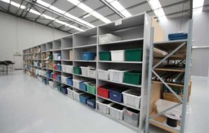 Industrial Shelving - Steel Shelving