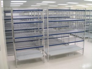 Industrial Shelving - Wire Shelving